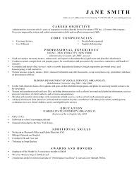 Resume With Objective Statement How To Write A Career Objective