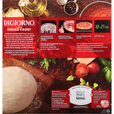 Meijer Artificial Christmas Trees by Digiorno Original Rising Crust Pepperoni Frozen Pizza 27 5 Oz