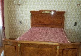 schlafzimmer bett schrank barock rokoko louis xvi empire luxus antik