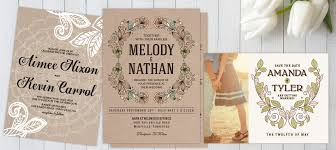 Whether Youre Planning To Say I Do In A Beautiful Barn Or Escape Secluded Mountain Retreat Our Rustic Wedding Invitations Are Sure Add That