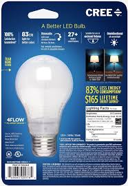 cree launches new led light bulb that lasts nearly three decades
