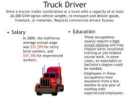 100 Truck Driver Average Salary PPT So You Want To Be A PowerPoint Presentation Free