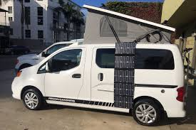 029 Recon Campers Nissan Nv 200 Van Conversion Nv200 Camper Kit Shelters Exhaust Systems Security Wonderful