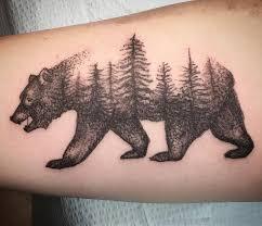 Drawn Grizzly Bear California