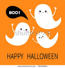 Halloween Flying Ghost Projector by Flying Ghost Spirit Holding Bunting Flag Stock Vector 702310105