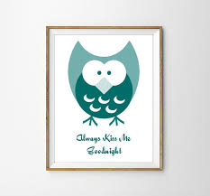 Cute Owl Printable Wall Art Motivational Typographic Print Inspirational Quote Decor Home Kids Nursery Instant DIgital Download