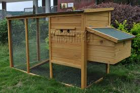 Intex Inflatable Sofa Uk by Wooden Chicken Coop Poultry House Hen Ark With Run Ebay