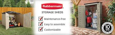 Rubbermaid Roughneck Medium Vertical Shed by Shop Rubbermaid Roughneck Storage Shed Common 5 Ft X 6 Ft