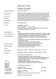 Graphic Design Resume Designer Samples Examples Job Description