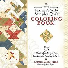 The Farmers Wife Sampler Quilt Coloring Book