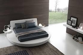 chambre adulte design blanc lit rond design pour la chambre adulte moderne en 36 idées