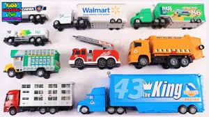 100 Toy Trucks For Kids For Children Toddlers Babies Dinoco King Hauler