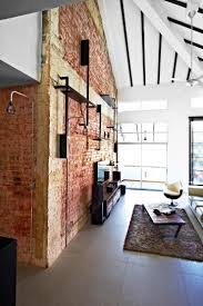 100 Brick Walls In Homes 10 Industrialstyle Homes With Exposed Pipes And Trunking Terior
