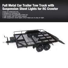 Full Metal Car Trailer Tow Truck With Suspension Sheet Lights For RC ... Amazoncom 118 5ch Remote Control Rc Crane Heavy Cstruction Mater Tow Truck Toy Agcrewall Electric Rc Drift Trucks Not Lossing Wiring Diagram Double E Licensed Mercedesbenz Acros Detachable Hitches Towing Equipment The Home Depot Drivers For Scanners I Need A Axial Bruder 110 Scale 6x6 Build Modify Grade El Show Videos 24h Tvirnyts Aut Carrera Custombricksde Lego Technic Model Custombricks Moc Instruction Wrecker Restoration Youtube