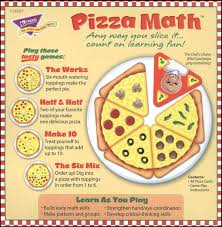 Pizza Math Tasty Topping Game Trend Enterprises 043207