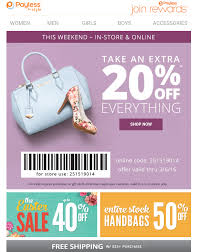 Payless ShoeSource: Take An Extra 20% Off Coupon! Exp 3/6 ... Payless Shoesource Shoes Boxes Digibless Jerry Subs Coupon Young Explorers Toys Coupons Decor Code Dji Quadcopter Phantom Payless 10 Off A 25 Purchase Coupon Exp 1122 Saving 50 Off Sale Ccinnati Ohio Great Wolf Lodge Maven Discount Tire Near Me Loveland Free Shipping Active Discounts Voucher Or Doubletree Suites 20 Entire Printable Coupons Online Tomasinos Codes Rapha Promo Reddit 2019 Birthday Auto Train Tickets Price Shoesource Home Facebook