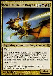 Premade Commander Decks 2016 by Primer Scion Of The Ur Dragon Multiplayer Commander Decklists
