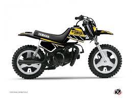 kit deco yz replica yzf kit déco moto cross replica yamaha pw 50 jaune kutvek kit graphik