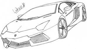 Lamborghini Drawings Sketch Veneno Roadster Youtube Cars Kid And