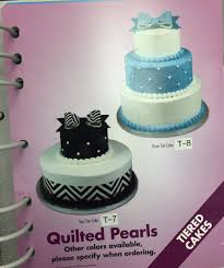 Sams Club Quilted Pearl Tiered Cake