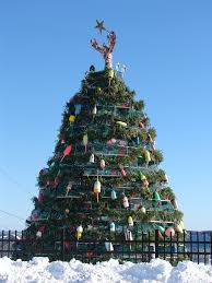 Decorative Lobster Trap Buoys by Discovery Channel To Film Rockland U0027s Lobster Trap Tree U2014 Midcoast