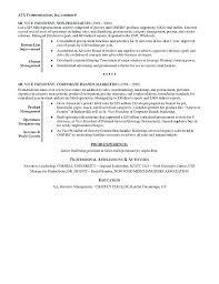Retail Resume Format Executive Sample Job Professional Examples