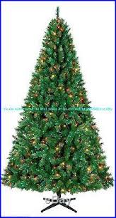Quick Set Pre Lit 75 KENNEDY FIR CHRISTMAS TREE With1061 Tips 600 Multi Lights