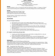 computer skills resume level computer skills list for resume hitecauto us