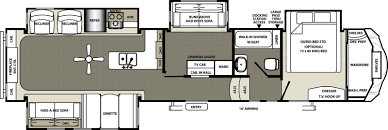 Fifth Wheel Bunkhouse Floor Plans by Forest River Sierra Trailers For Sale In Lake Charles Louisiana