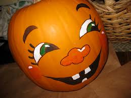 Cute Carved Pumpkins Faces by Cute Pumpkin Faces Use Basic Colors Or Not So Basic It U0027s