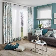 gardine mit ranken und blättern vorhänge wohnzimmer