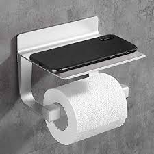 hoomtaook toilettenpapierhalter ohne bohren bad badezimmer