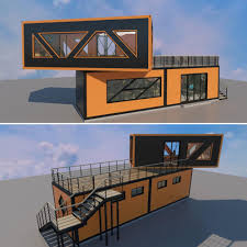 100 Free Shipping Container House Plans Design Charge Customizable Home 40 Feet 20ft Coffee Shop For Sale Prefabricated Buy Prefabricated