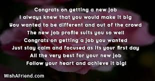 21441 Congratulations For New Job