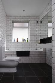 40 Awesome Black and White Bathroom Floor Beautiful