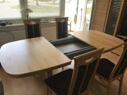 esstisch 6 stühle dodenhof ausziehbar 1 0mx1 50x1 83