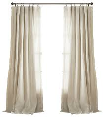 Lush Decor Serena Window Curtain by Rosalie Window Panel Ivory Curtains By Lush Decor