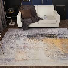 nordic einfache teppiche für wohnzimmer weiche shaggy