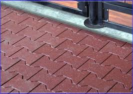 Unique Outdoor Rubber Tiles With Outdoor Rubb 3589