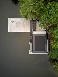 100 Boathouse Design Charred Cedar Clads Ontario Lake Boathouse By Atelier