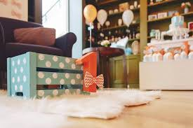 Wooden Crate Decoration From A Bow Tie Birthday Party Via Karas Ideas