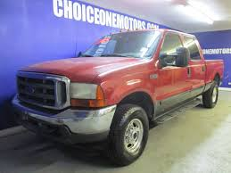 100 Ford Short Bed Truck 2001 Used Super Duty F250 4x4 Crew Cab V10 Motor