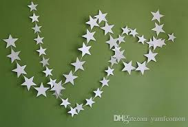 2018 Wall Hanging Paper Star Garlands 4m Long Birthday String Chain Party Banner Children Room Door Home Decoration From Yamfcomon 10051