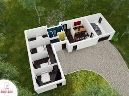 maison contemporaine plain pied modèle harmonie