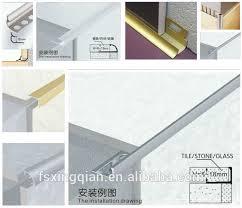 series quality metal ceramic tile trim corner edge