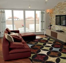trendy ideas sectional rugs nice design imposing living room rugs