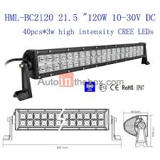 199 99 21 5 inch 120w cree led light bar flood light spot light