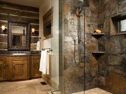Rustic Bathroom Shower