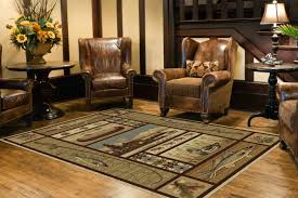 Full Size Of Rustic Lodge Style Area Rugs Gone Fishing Room Rug Charming Archived On