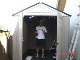 Rubbermaid Shed Assembly Time by Shed Complete Solar Powered Electric Vehicle